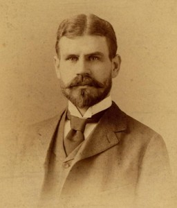 Portrait of Jesse Lazear, 1896. Philip S. Hench Walter Reed Yellow Fever Collection 1806-1995, Box-folder 79:25, Historical Collections, Claude Moore Health Sciences Library, University of Virginia.