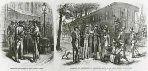 Scenes of Memphis, Tennessee under Quarantine for a Yellow Fever Outbreak. Frank Leslie's Illustrated Newspaper, September 20, 1879.