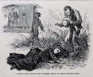 "Excerpt ""The Great Yellow Fever Scourge-Incidents of its Horrors in the Most Fatal Districts of the Southern States. Frank Leslie's Illustrated Newspaper, September 28, 1878."