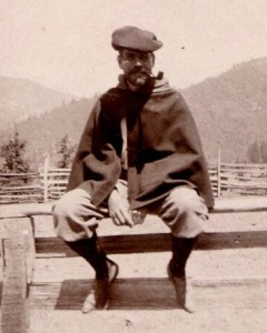 Jesse W. Lazear, circa 1900. <em>Philip S. Hench Walter Reed Yellow Fever Collection, 1806-1995. </em> Box-folder 94:15. Historical Collections, Claude Moore Health Sciences Library, University of Virginia.